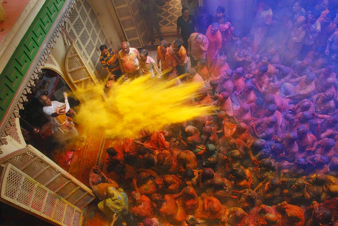 This Holi Celebrate With The Living Gods Of Vrindavan